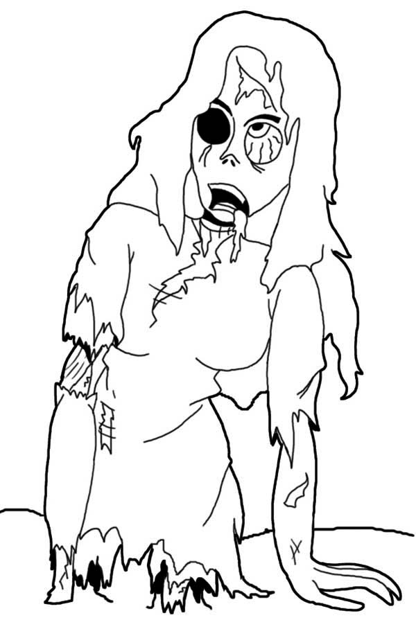 zombie coloring sheets