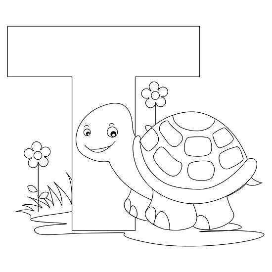 Printable Alphabet Coloring Pages | Coloring Me