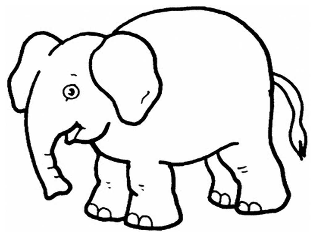printable animal coloring pages coloring me - Toddler Coloring Page
