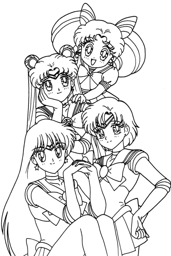 Printable Anime Coloring Pages Coloring Me Cool Anime Coloring Pages