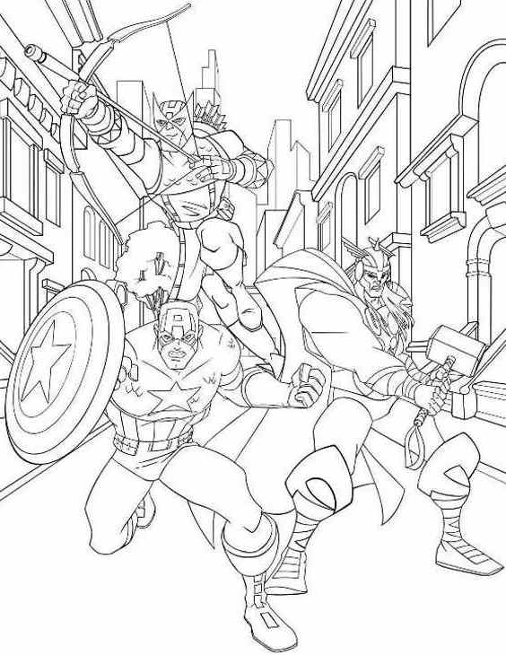 avengers coloring pages free - Avengers Coloring Pages Printable
