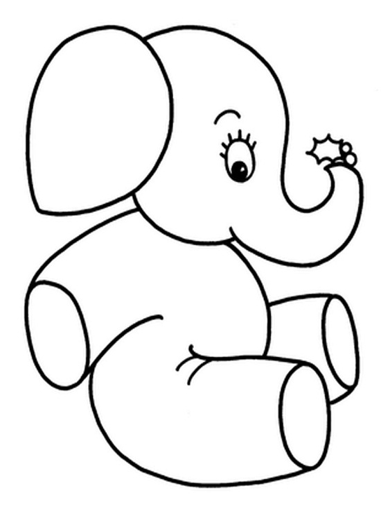 Printable Elephant Coloring Pages Coloring Me Baby Elephant Coloring Pages