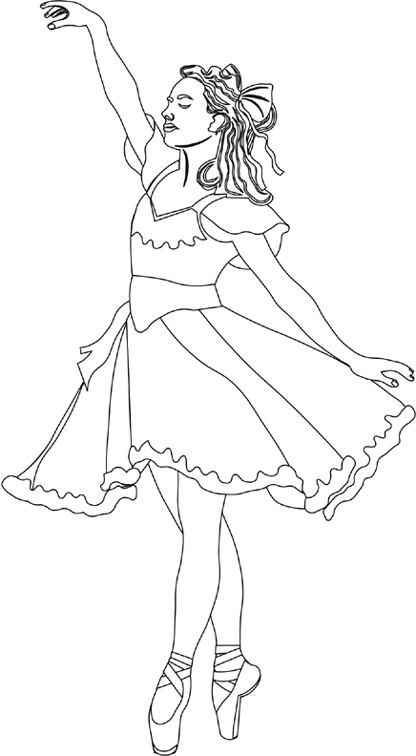 ballerina coloring sheets