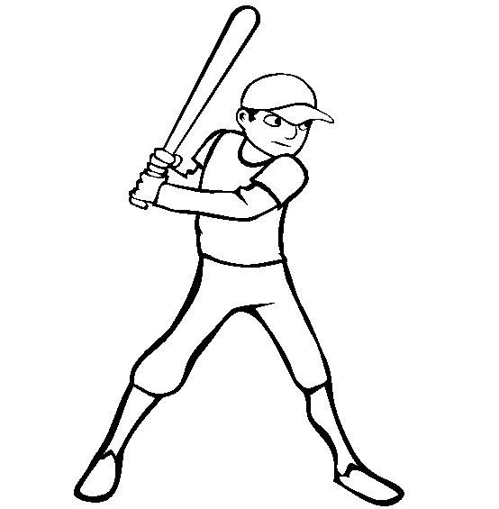Printable Baseball Coloring Pages  Coloring Me