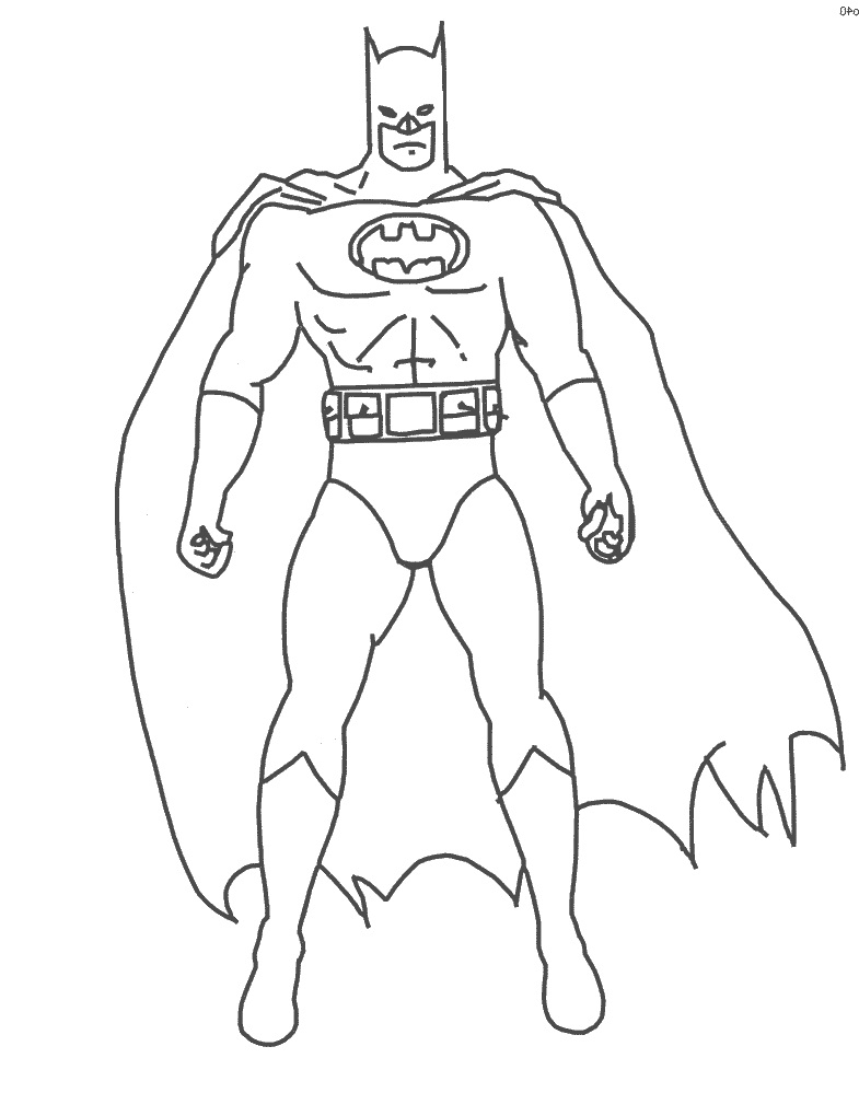 coloring pages batman printable logo - photo#22