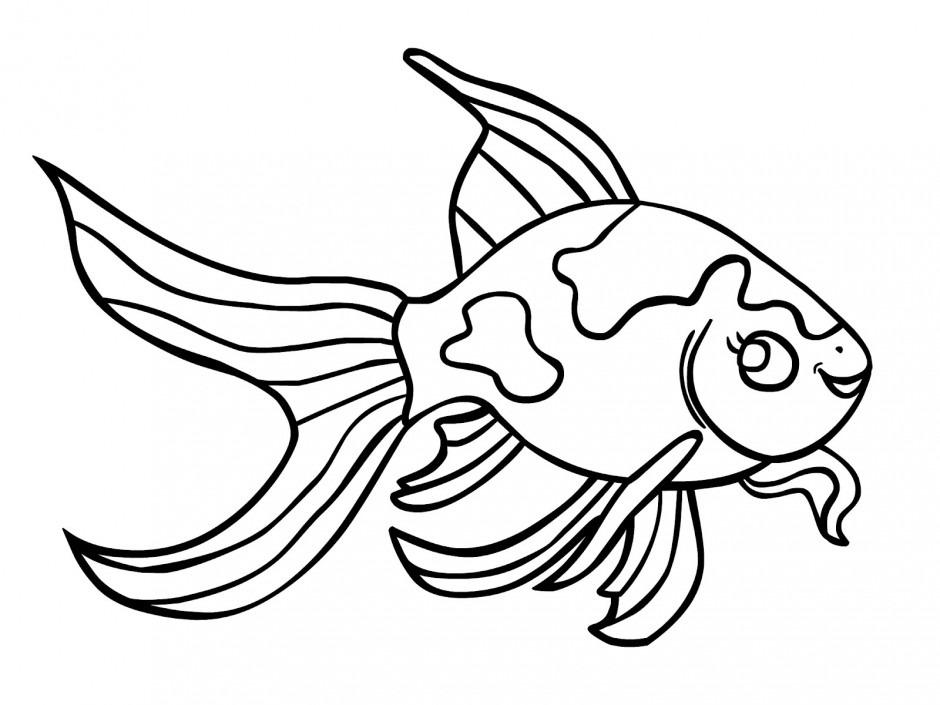 fish coloring pages free - photo#5