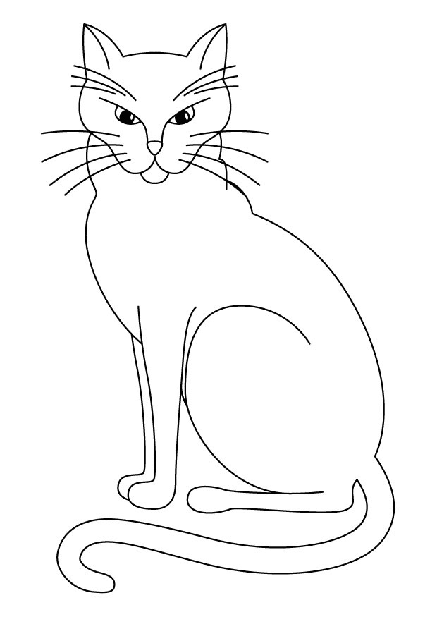 Worksheet. Printable Cat Coloring Pages  Coloring Me