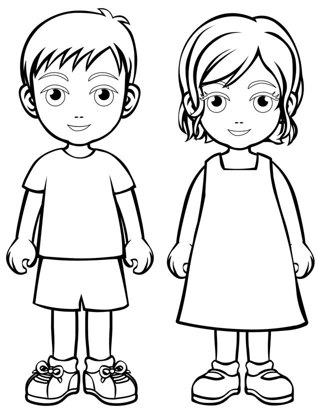 printable boy coloring pages me