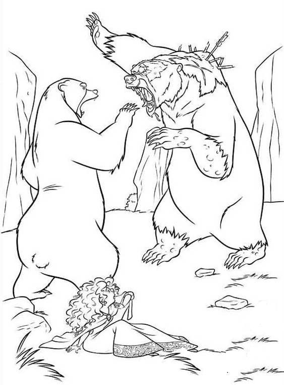 brave coloring pages - photo#18