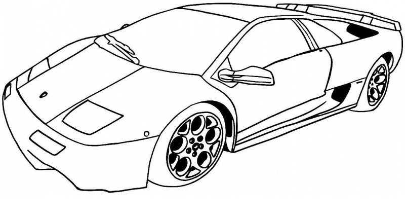 Advanced Car Coloring Pages : Beautiful car coloring pages to print ideas