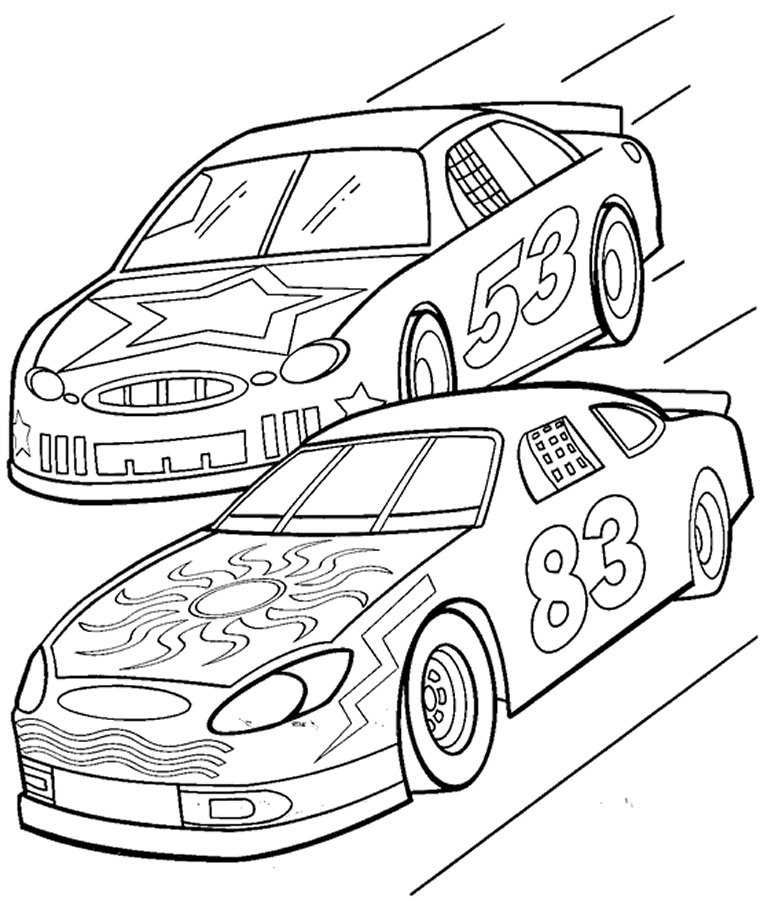 Printable Cars Coloring Pages ColoringMe.com