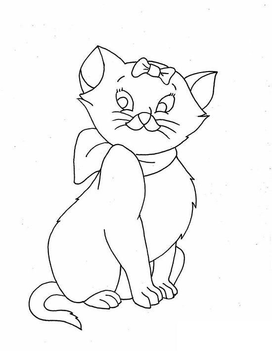 cat coloring sheets - Free Printable Cat Coloring Pages