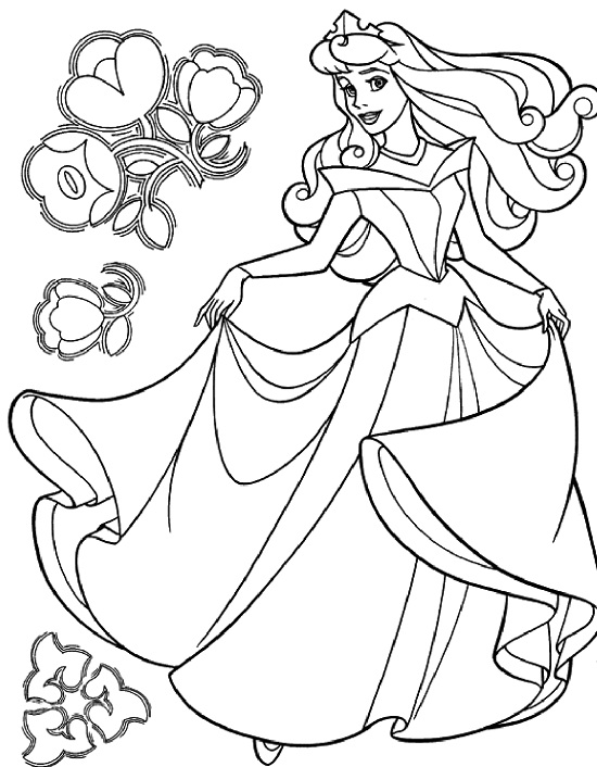top 25 printable cinderella coloring pages