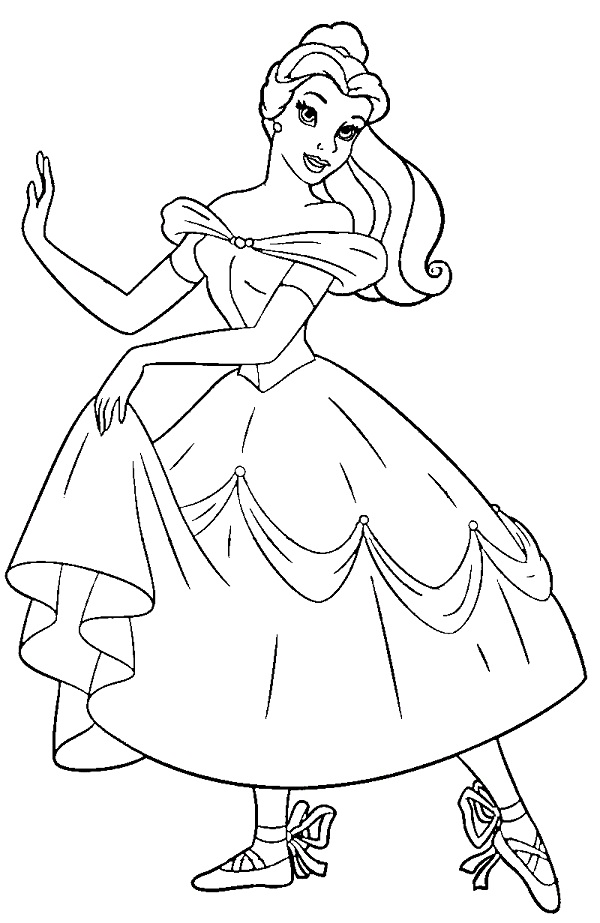 photograph about Printable Ballerina Coloring Pages referred to as Printable Ballerina Coloring Web pages