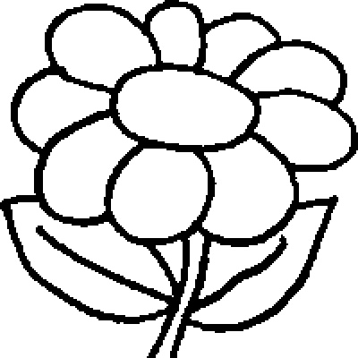 coloring page flowers - Printable Coloring Pages Flowers
