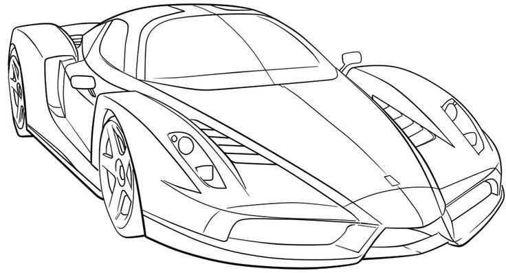 printable cars coloring pages coloring me. Black Bedroom Furniture Sets. Home Design Ideas