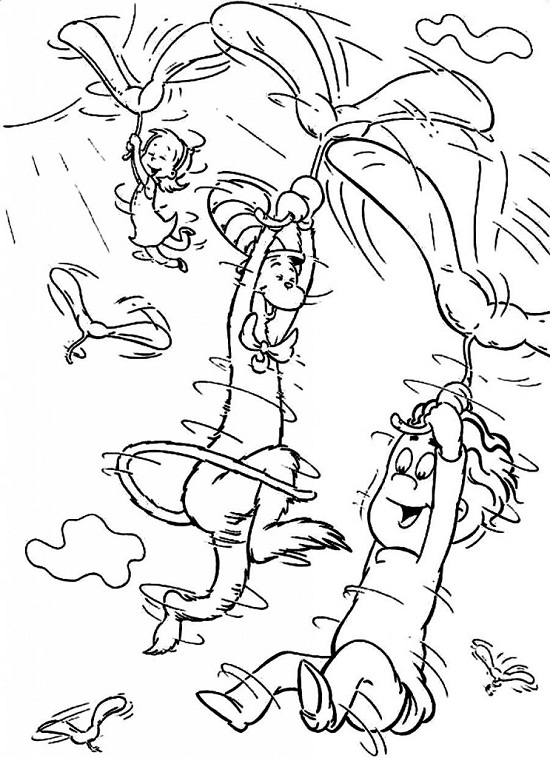 printable theodor seuss coloring pages - photo#14