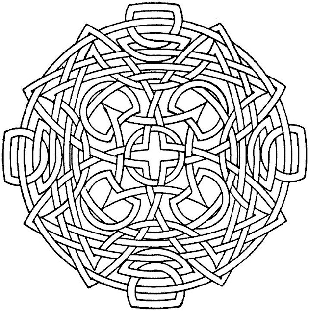 Printable Geometric Coloring Pages Me