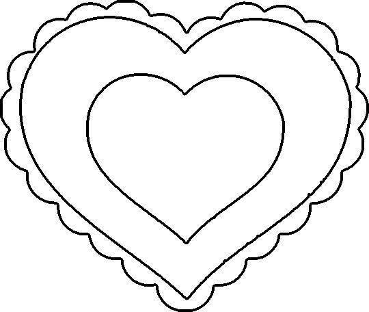heart coloring sheets