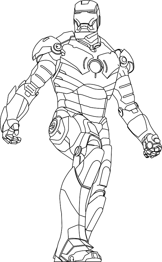 Iron man ghost free colouring pages for Ironman coloring pages free