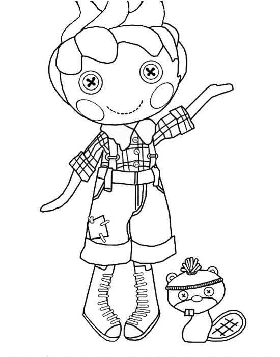 Printable Lalaloopsy Coloring Pages | ColoringMe.com