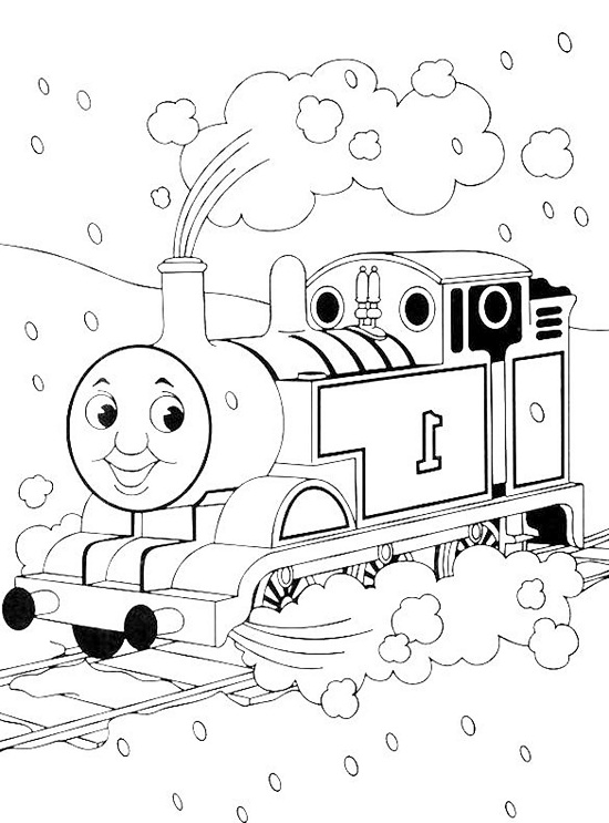 Printable Thomas the Train Coloring Pages | Coloring Me