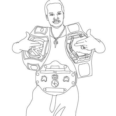 - Printable WWE Coloring Pages ColoringMe.com
