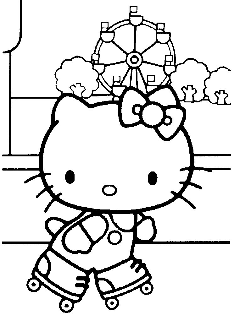 printable hello kitty coloring pages coloring me