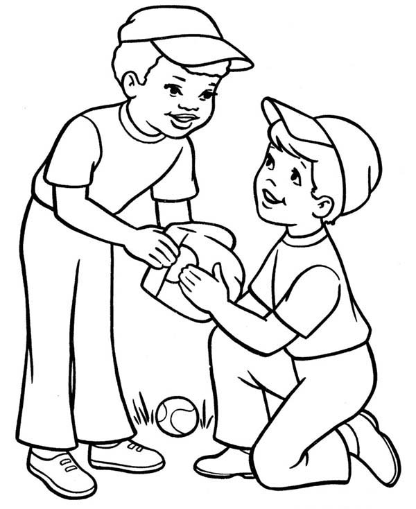 Printable Boy Coloring Pages