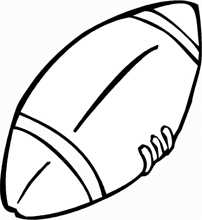 Printable Football Coloring Pages Coloring Me