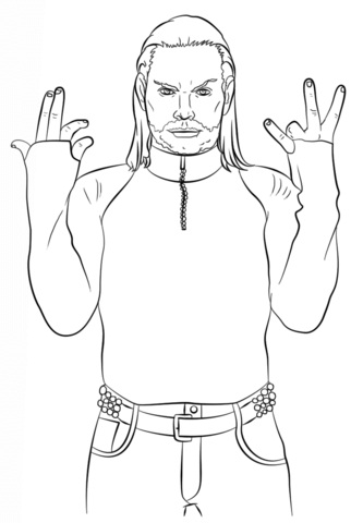 Printable WWE Coloring Pages Coloring Me