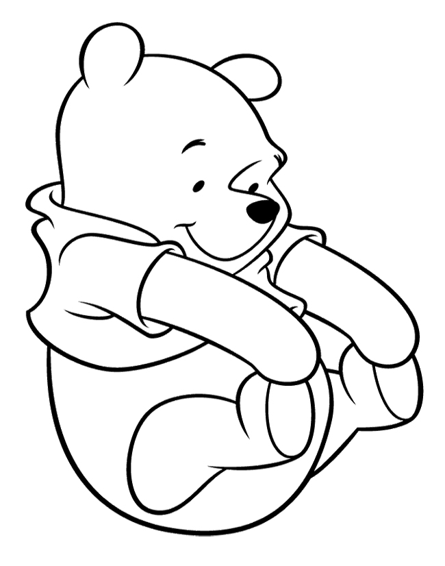 Winnie The Pooh Coloring Pages Impressive Printable Winnie The Pooh Coloring Pages  Coloring Me Decorating Design