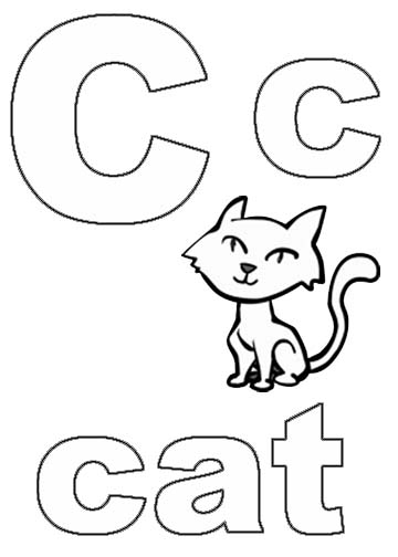 printable alphabet coloring pages  coloring me, coloring