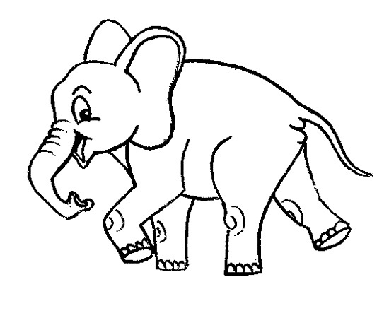 Printable Elephant Coloring Pages | Coloring Me