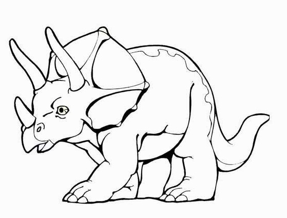 Dinosaur Coloring Sheets Baby Pages