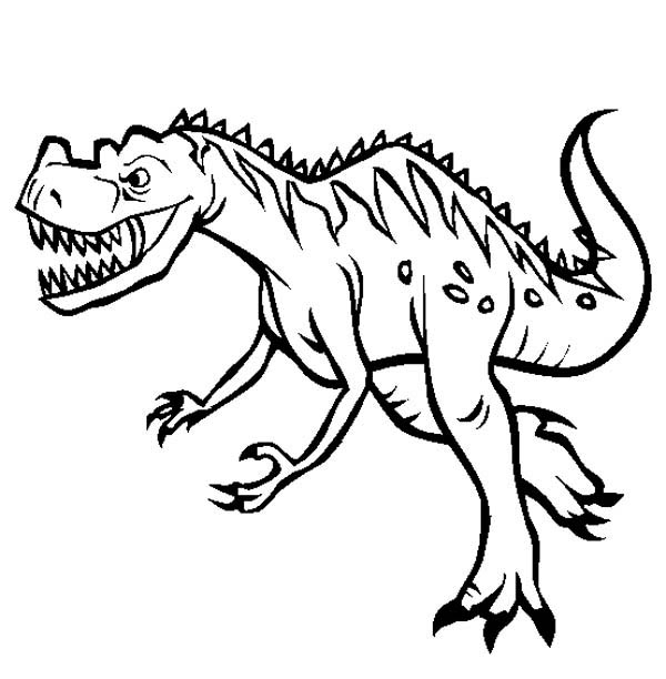 dinosaur coloring sheets - Cute Baby Dinosaur Coloring Pages