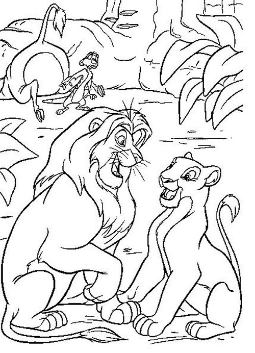 Printable Lion King Coloring Pages | Coloring Me
