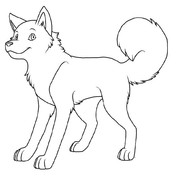 real dogs coloring pages - photo#12