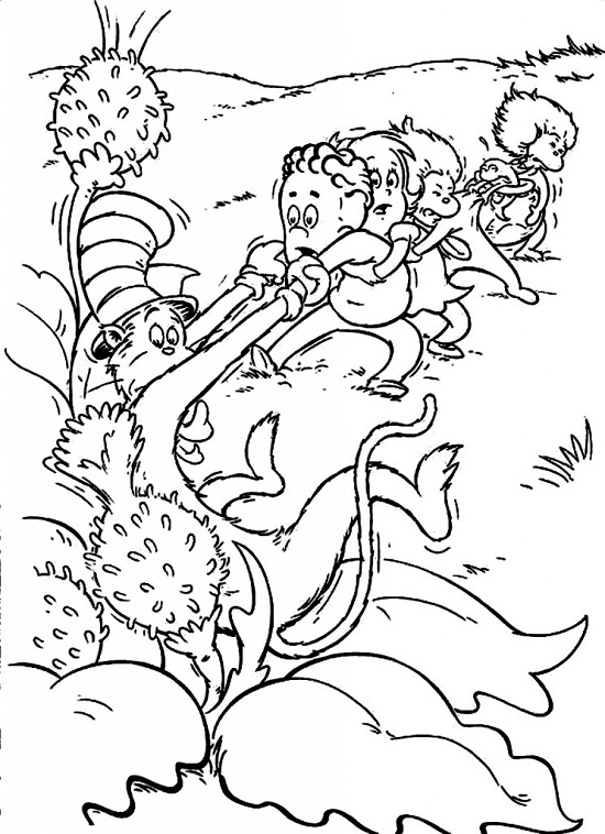 Printable Coloring Pages Dr Seuss : Stunning dr seuss coloring book ideas irishdraught.us