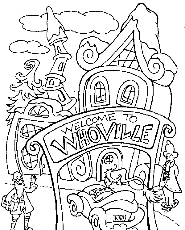dr seuss characters coloring sheets - printable coloring pages - Dr Seuss Coloring Pages Printable