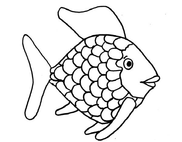 fish coloring pages free - photo#35