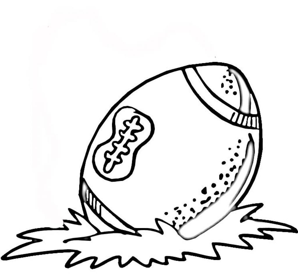 football pictures coloring pages - photo#26