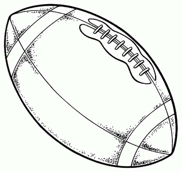 free printable football coloring pages coloring pages on football coloring pages - Printable Coloring Pages Football