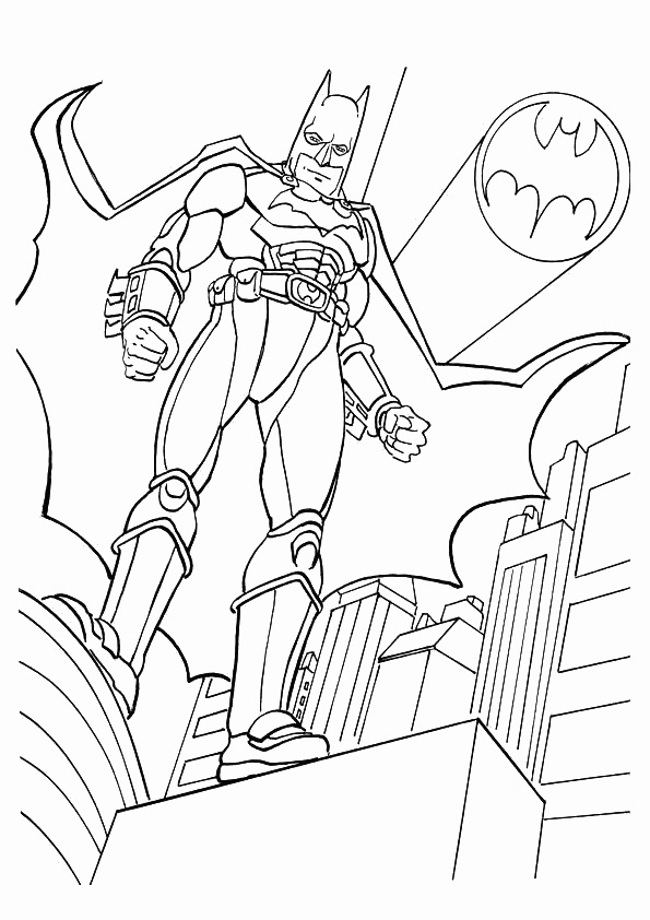 free coloring pages batman - photo#17