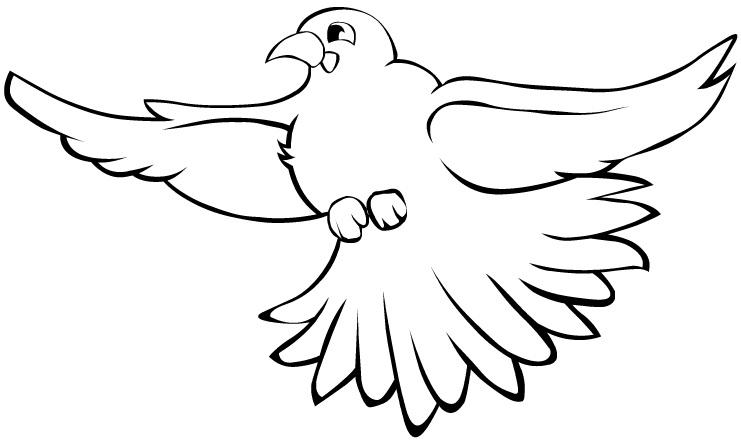 free bird coloring pages - Free Bird Coloring Pages