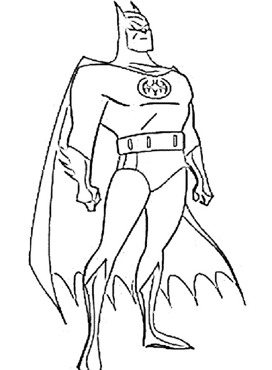 free superhero coloring pages online - photo#21
