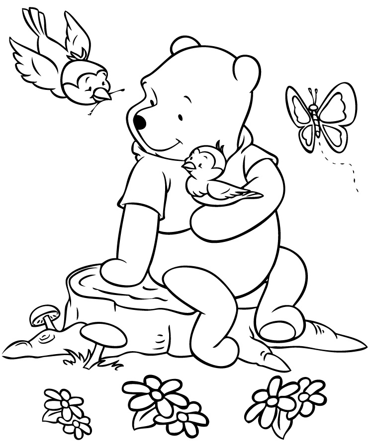 Printable Winnie the Pooh Coloring Pages  Coloring Me