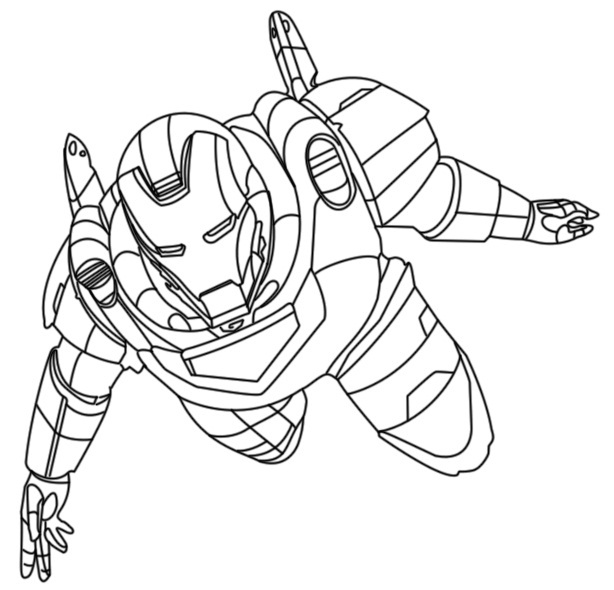 Printable Iron Man Coloring Pages Coloring Me Iron Coloring Pages Free
