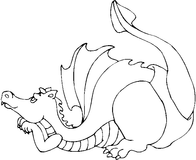 Printable Dragon Coloring Pages  Coloring Me