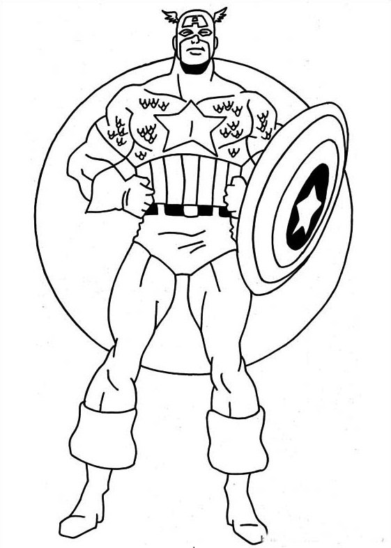 printable super hero coloring pages - photo#17
